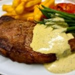Sirloin Steak with Béarnaise sauce