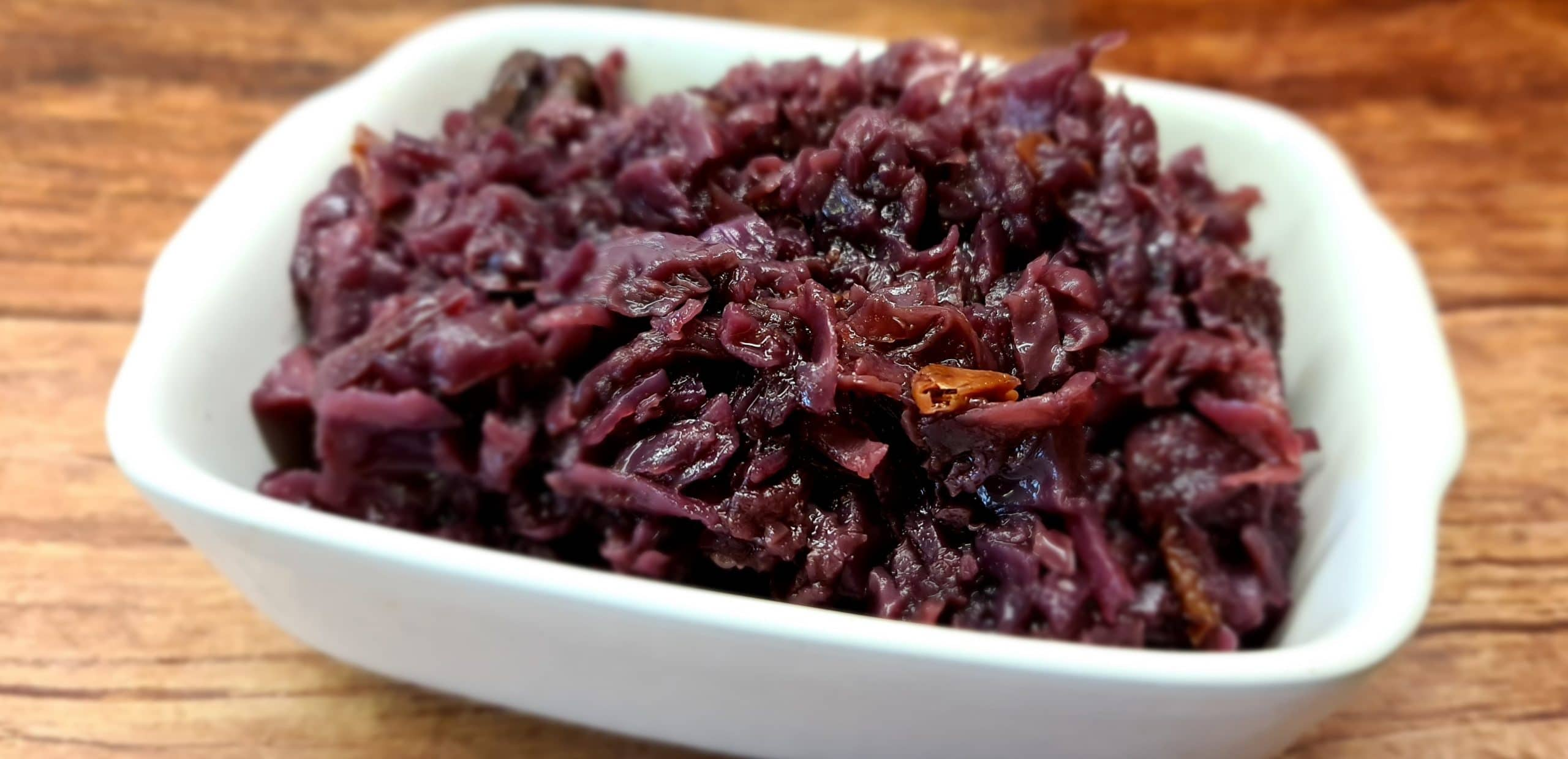 Christmas Braised Red Cabbage