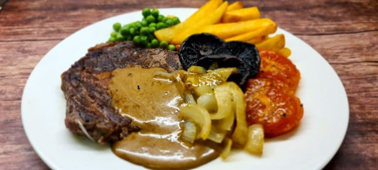 Easy Peppercorn Sauce