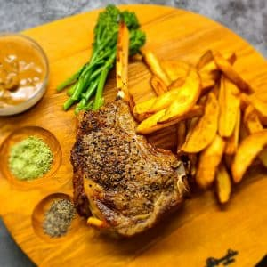 Cote De Beouf with Chunky Oven Chips
