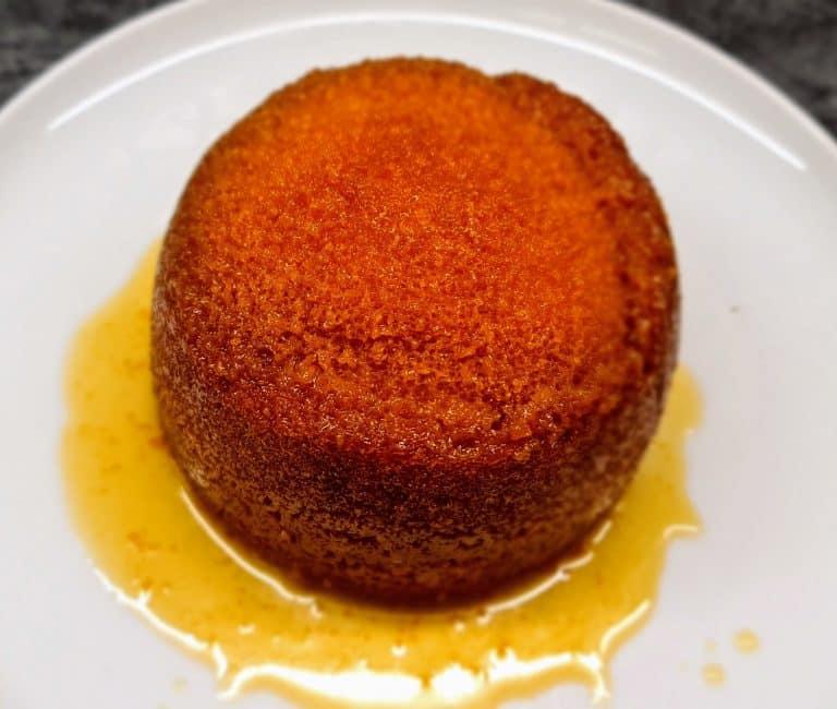 Steamed Golden Syrup Sponge
