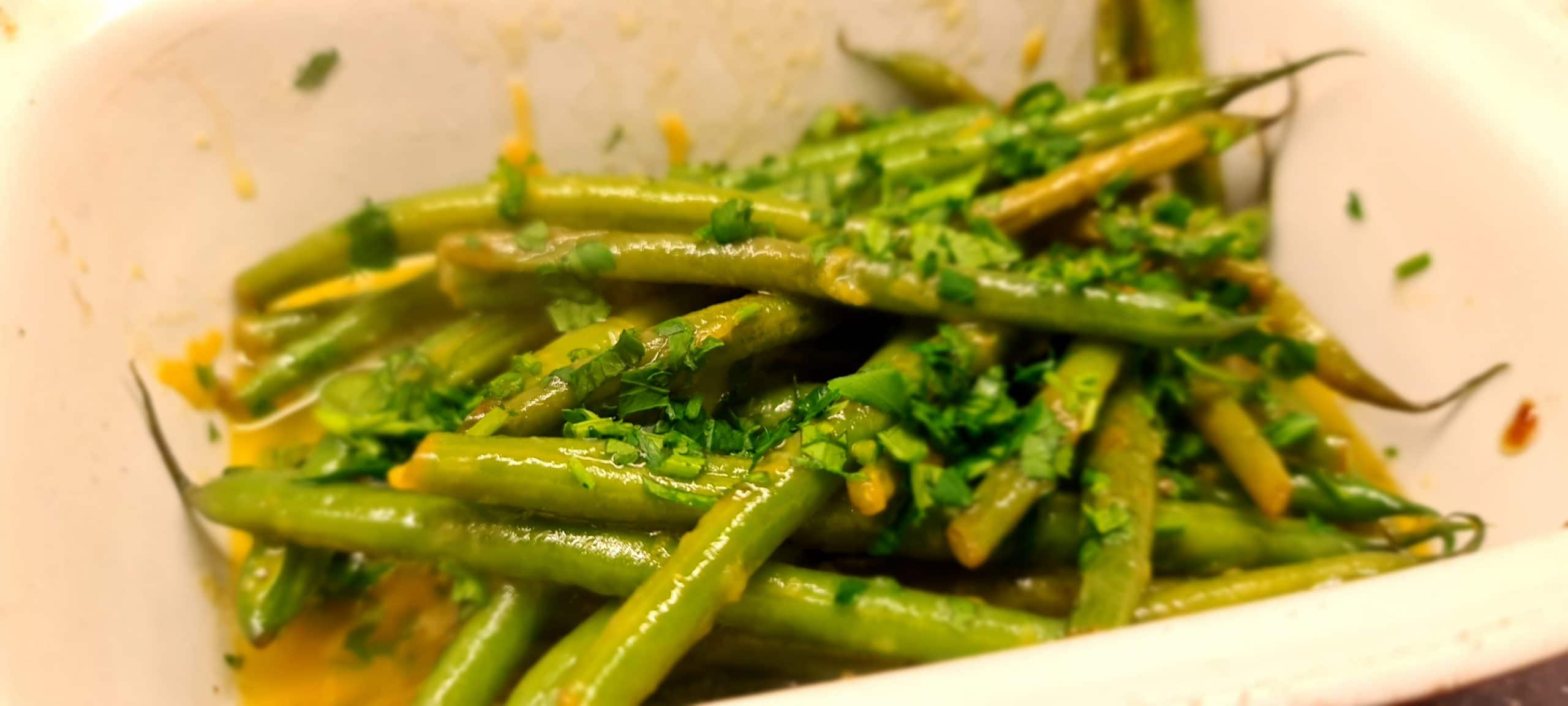 Lemon and Parsley Green Beans