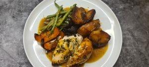 Tarragon and Lemon Roast Chicken