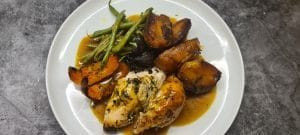 Tarragon and Lemon Roast Chicken